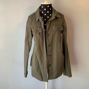 Button Up Utility Jacket